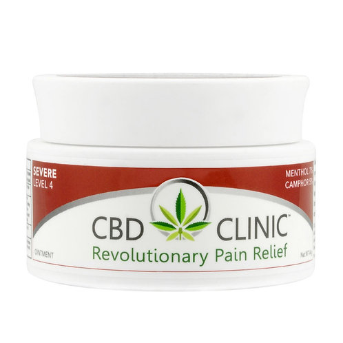 CBD CLINIC LEVEL 4 – DEEP MUSCLE AND JOINT PAIN RELIEF