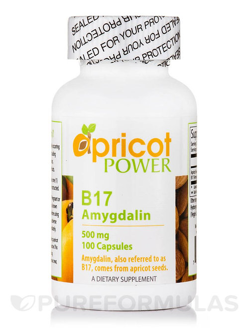 Apricot Power B17/Amygdalin 500mg Tablets
