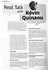 Interview Kevin Quinaou Dance for You magazine