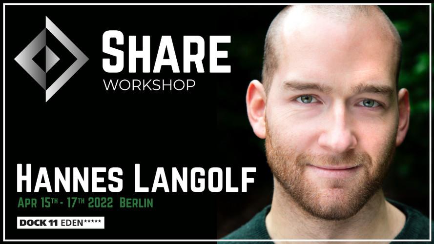 SHARE Workshop | Hannes Langolf