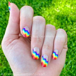 Color Street Melissa Hansen  nail art 1
