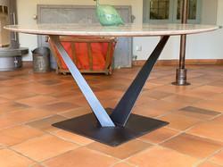 CREATION PIED DE TABLE