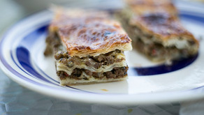 Recipe: Lamb and Caramelized Onion Pastry Squares