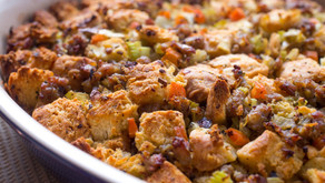 Recipe: Stuffing with Italian Sausage, Parmesan and Bell Peppers
