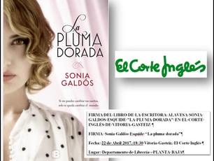 Este sábado 22, firma de libros en el Corte Inglés de Vitoria-Gasteiz
