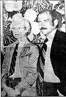 Kenneth Åberg och Andy Warhol, konstlegender