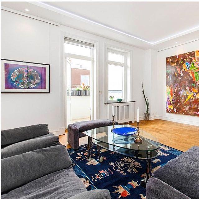 Konst till utlåning för Lägenhetsförsäljning