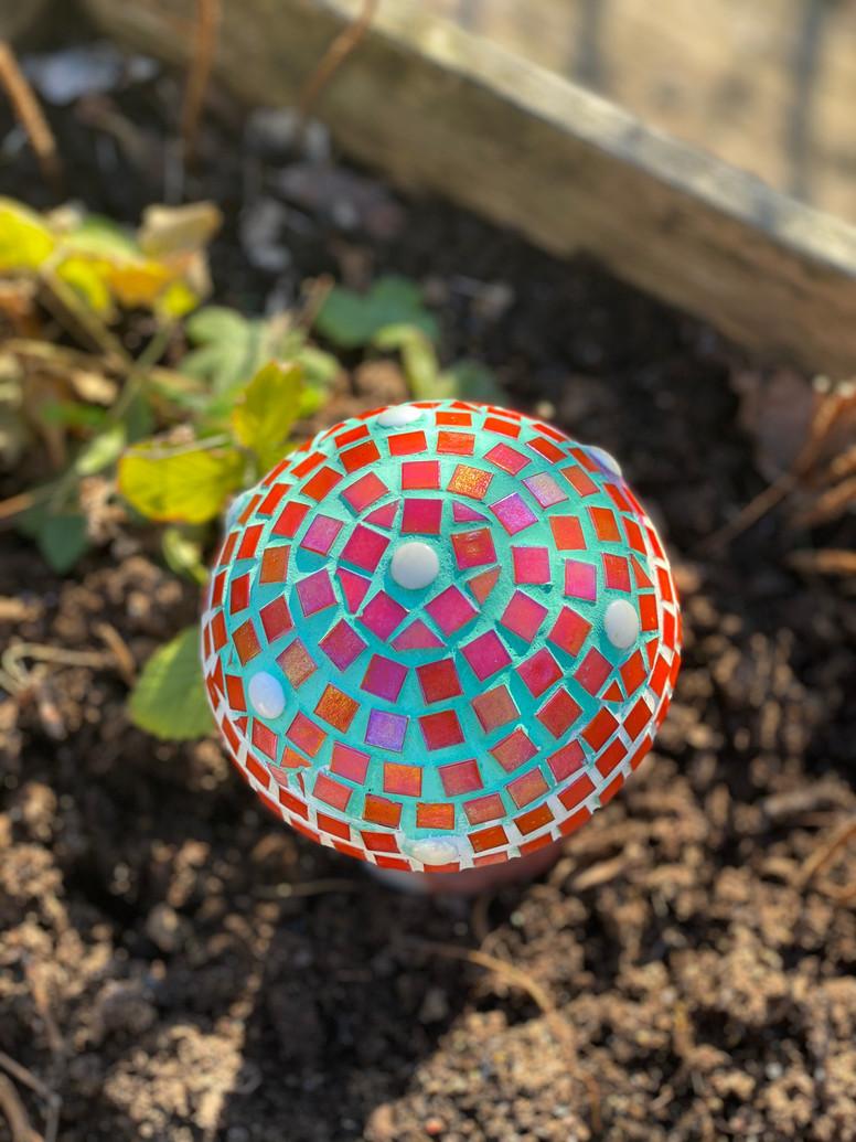 Mosaik svamp