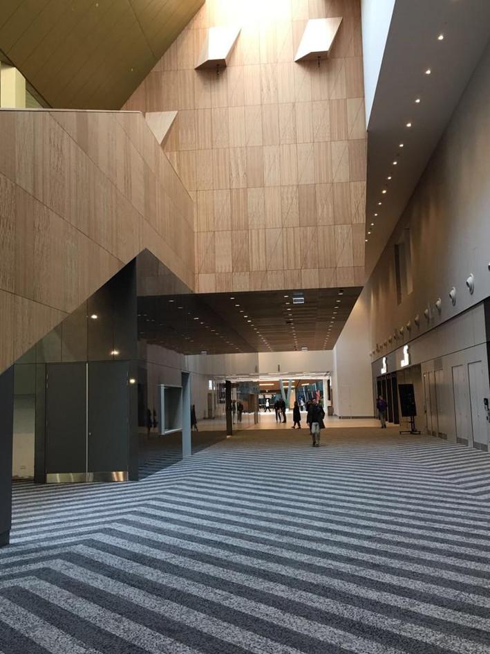 Melbourne Convention Centre - Clear 2K Top Coat