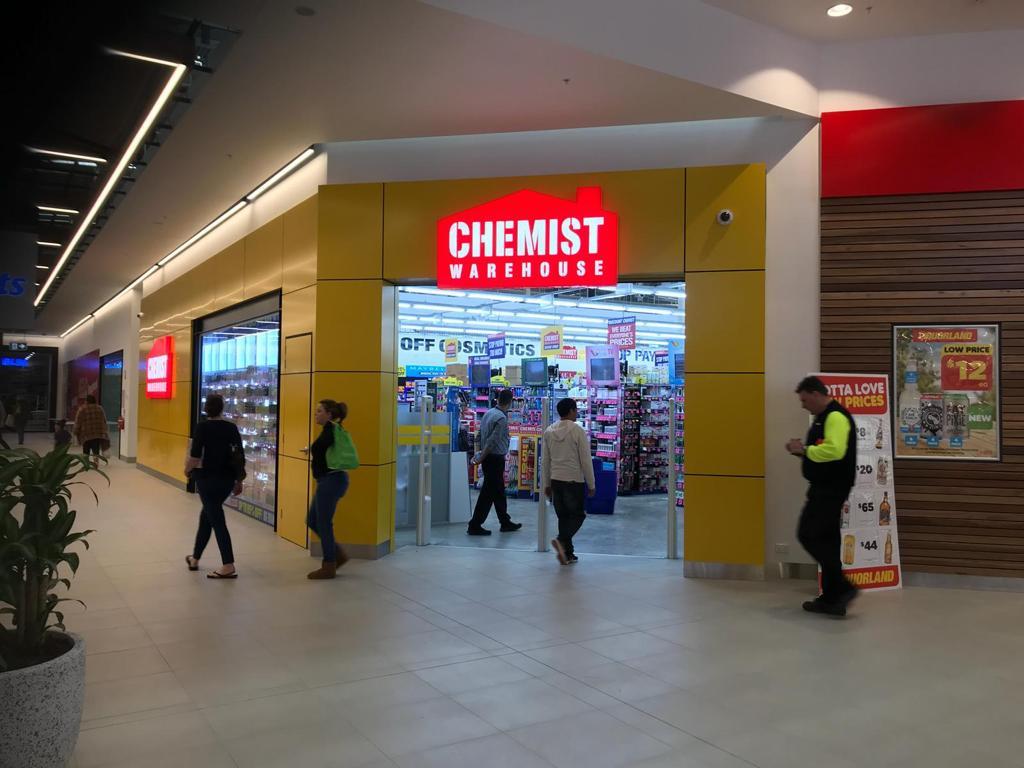 Chemist Warehouse Australia Wide Custom Colours in 2K Topcoat / Basecoat