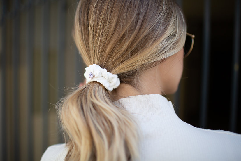 Organic Bamboo Silk MINI Scrunchie - Pack of 3