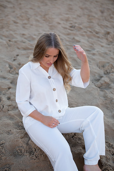 The Bamboo Silk Pyjama Shirt
