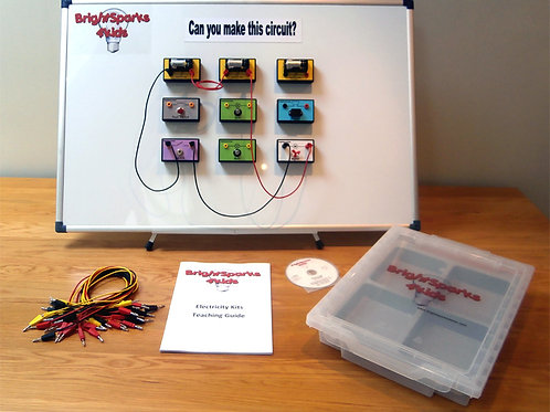 Magnetic Electricity Kit Mini (Whiteboard not included)