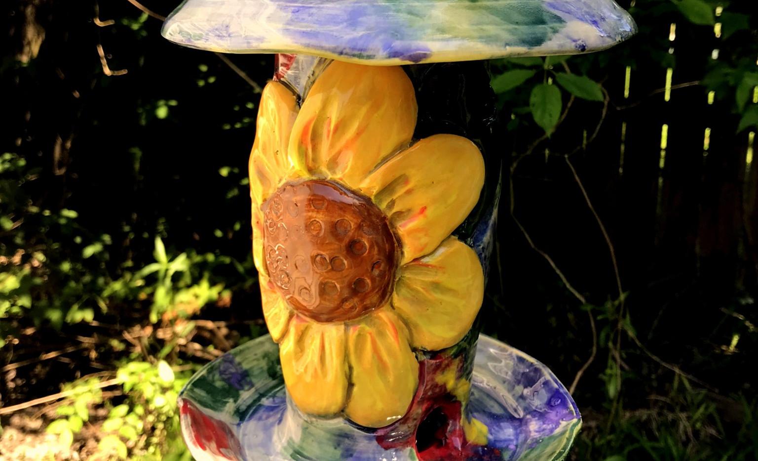 Front Sunflower Bird Feeder