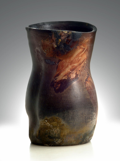 Saggar Fired Vase