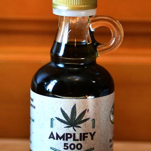 Amplify 500: Full Spectrum Hemp Extract 500mg CBD,    50ml bottle 10mg CBD/ml