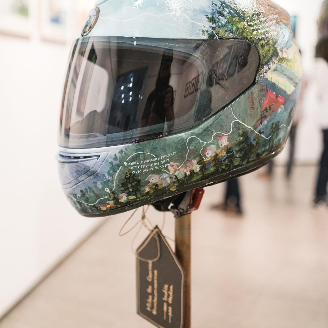 motoartshow_helmetsforindia_milesoncanva