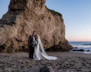 El Matador Beach Wedding