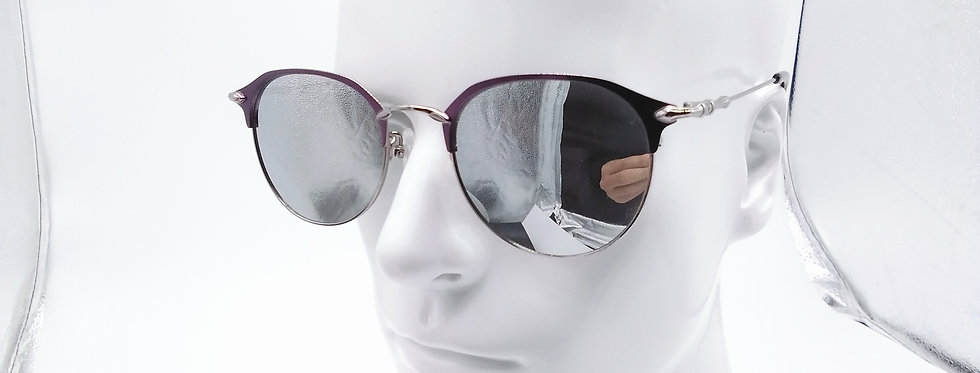 Round Metal Sunglasses Lightweight