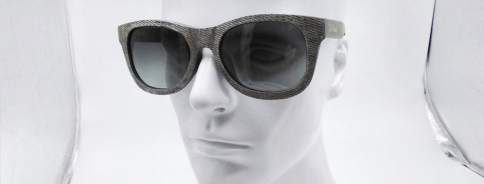 Denim square sunglasses