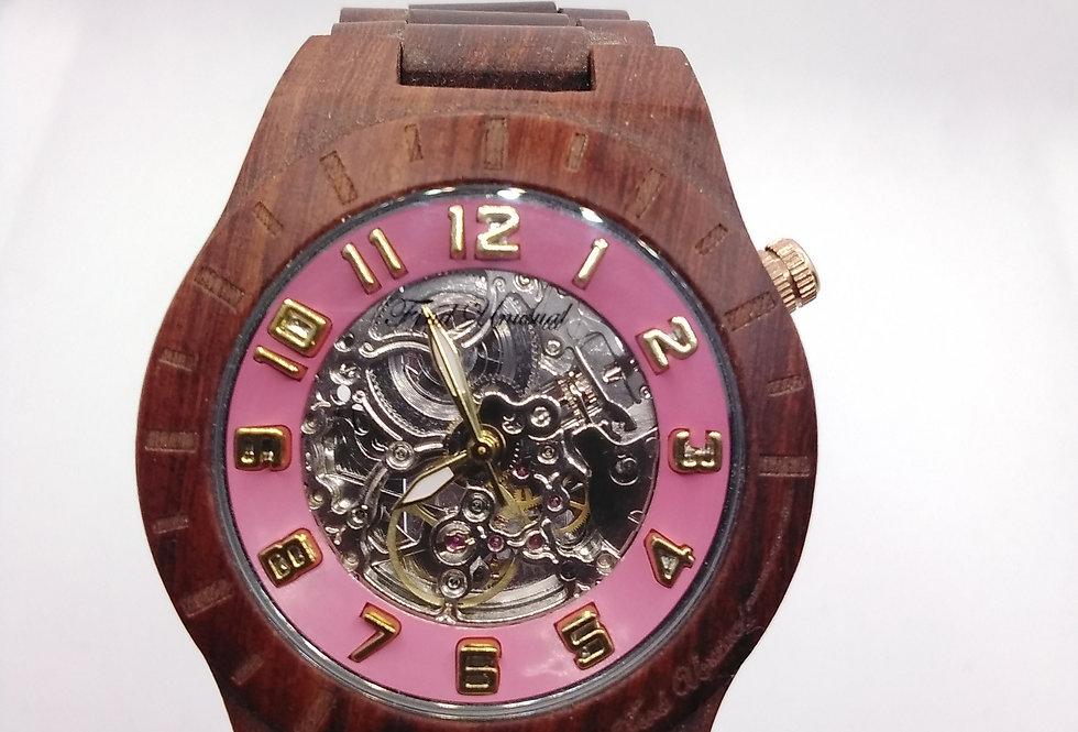 Wood Series Pink Mechanical