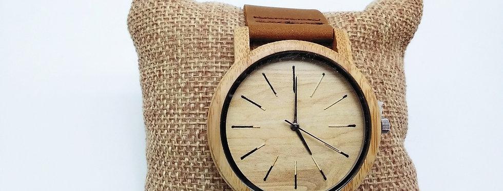 Wooden watch match design