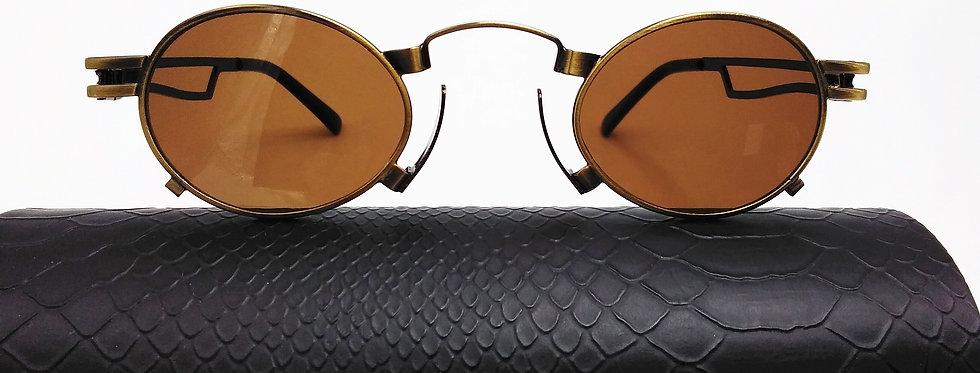 Small Circle Steampunk Sunglasses
