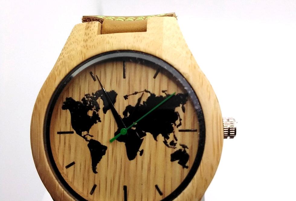 Bamboo world map