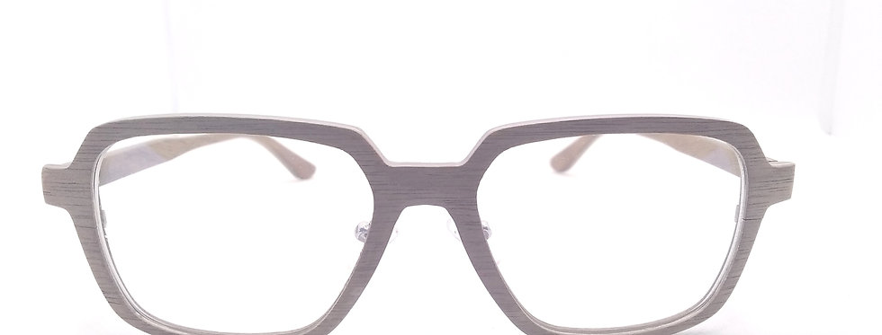 Clip on Sunglasses - Walnut