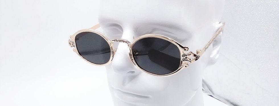 Vintage Small Oval Sunglasses