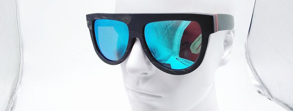 W wooden sunglasses
