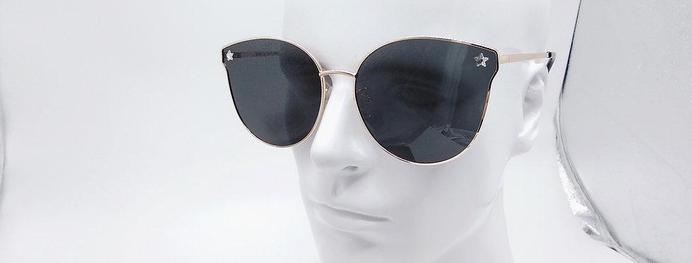 Cateye sunglasses Light metal frame