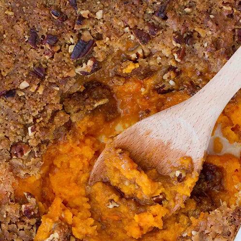 Brown sugar pecan sweet potato casserole