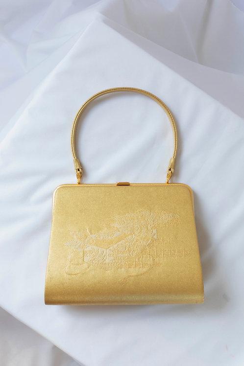 GOLD FLOWER BAG