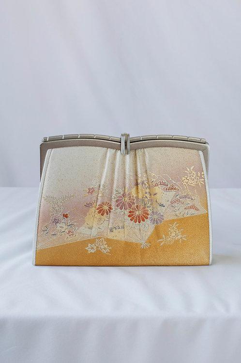 PINK & GOLD FLOWER BAG