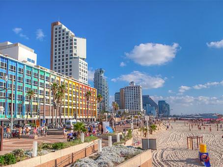 A vida em TEL AVIV é uma praia