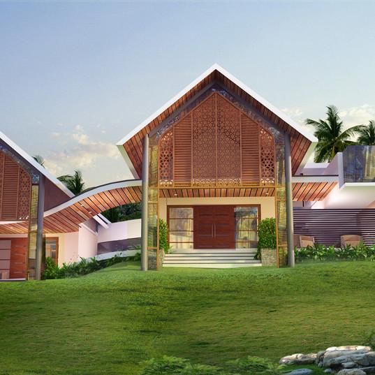 Shiyas Residence, Muvattupuzha