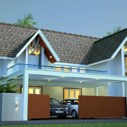 Dr Joyal Residence, Kolenchery