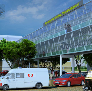 Elevated Walkway for Trivandrum Medical College