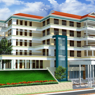 Decinnial Building for SNGCE