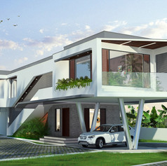 Shibin Residence at Cherthala