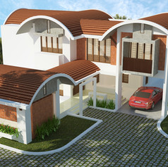 Renjith Residence at Haripad