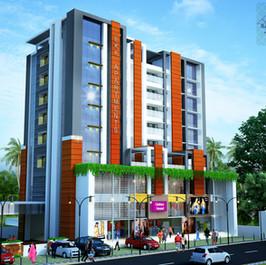 EKK Apartments, Perumbavoor