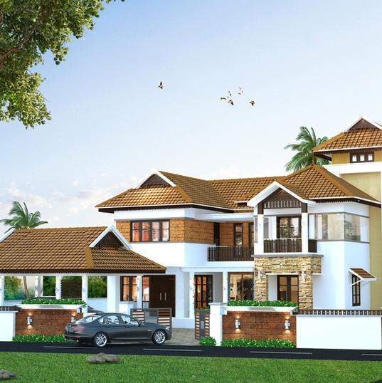 Mathew Residence, Vazhakulam