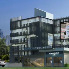 Okkal Cooperative Bank Face Lifting