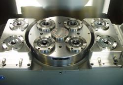 Kupplungsmechanikplatte in Palettenwechsler