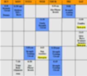 2020 Winter class schedule for website.p