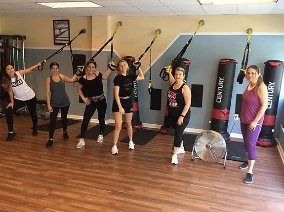 My weekend warriors! TRX Intensive