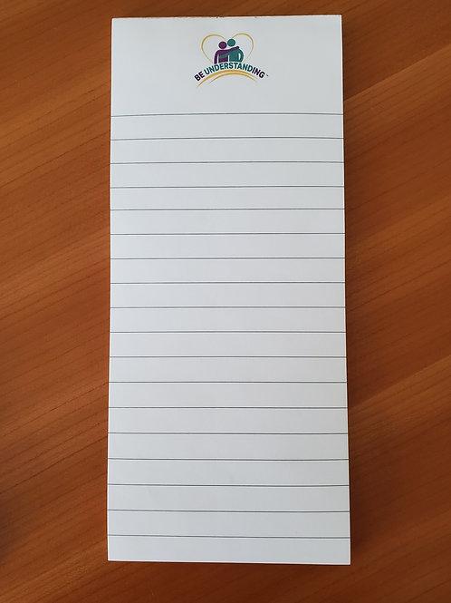 BU Lined Notepad