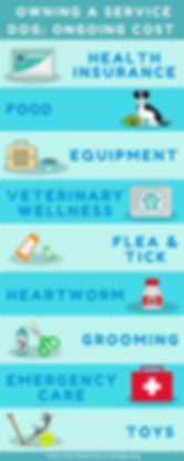 Ongoing Costs of Owning a Service Dog